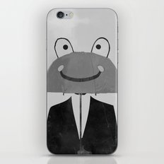 happy man iPhone & iPod Skin