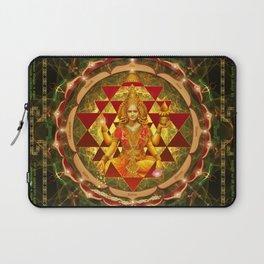 Shri Yantra- Maha Lakshmi Ashtakam- Abundance Laptop Sleeve