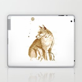 Coffee Fox Laptop & iPad Skin