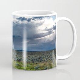 Desert Rain - Summer Thunderstorms Near Taos New Mexico Coffee Mug