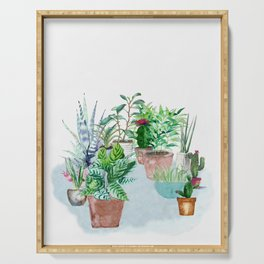 Plants 2 Serving Tray