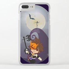 Sora In Halloweentown Clear iPhone Case