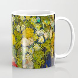 Bouquet of Flowers in a Vase Vincent van Gogh Oil on canvas 1890 Coffee Mug