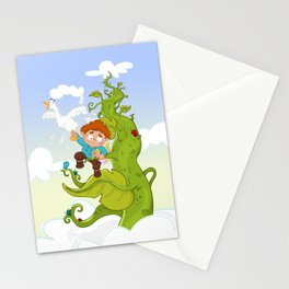 Jack and the Beanstalk Stationery Cards
