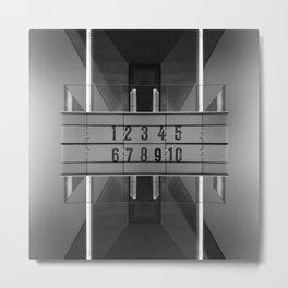 Zen-Trum Metal Print