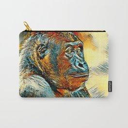 AnimalArt_Gorilla_20170604_by_JAMColorsSpecial Carry-All Pouch