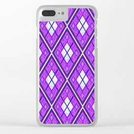 Violet Night Clear iPhone Case