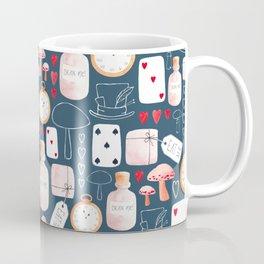 Alice in Wonderland - Indigo madness Coffee Mug