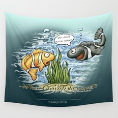 When Clownfishes meet Wall Tapestry