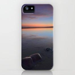 Sunset At The Beach. Magic beach iPhone Case