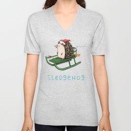Sledgehog Unisex V-Neck