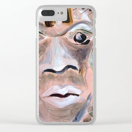 Eye of the Beholder Clear iPhone Case