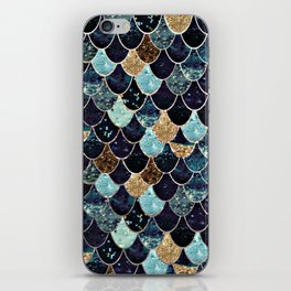 REALLY MERMAID - MYSTIC BLUE iPhone Skin