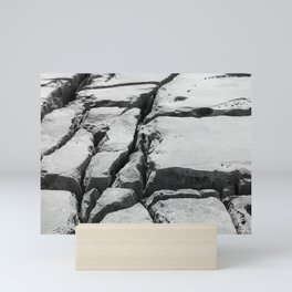 Limestone pavement in the Burren, Ireland Mini Art Print