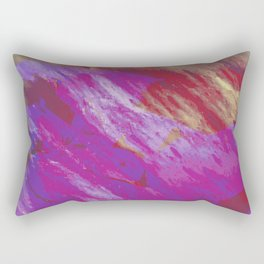 touch me not, come back tomorrow Rectangular Pillow