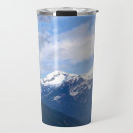 Mountains in the backyard Travel Mug