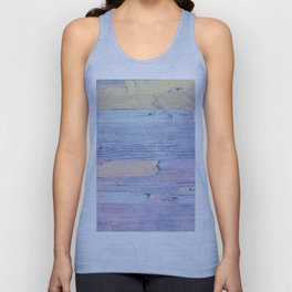 Colorful wood Unisex Tank Top