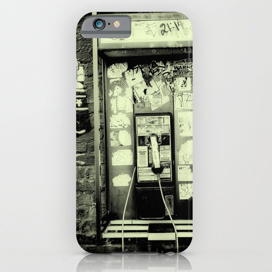 Just before the i-phone iPhone & iPod Case