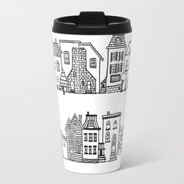 Row of Houses Travel Mug