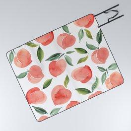 peaches Picnic Blanket