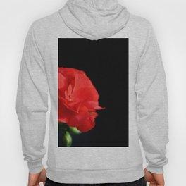Red on black Hoody