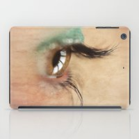 all seeing eye iPad Cases featuring All Seeing Eye by Fran Walding
