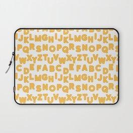 wafflebet waffle alphabet Laptop Sleeve