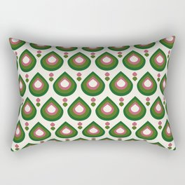 Drops Retro Confete Rectangular Pillow