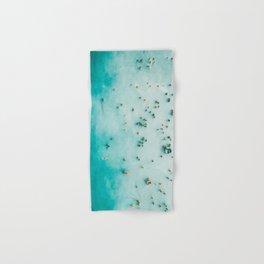 Beach Photography, Aerial Blue Ocean Print, Large Turquoise Ocean Poster, Coastal Wall Art, Beach Hand & Bath Towel