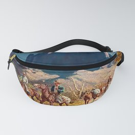 """""""Superstition Trail"""" by Oleg Wieghorst Fanny Pack"""