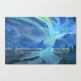 Floki Discovers Iceland Canvas Print
