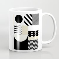 parks and recreation Mugs featuring Happiness recreation by MILLIE
