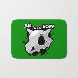 Bad To The Bone Bath Mat