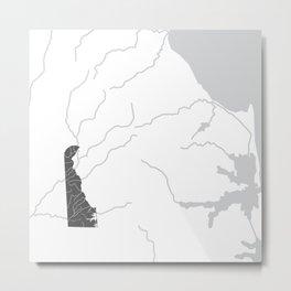 Delaware Metal Print