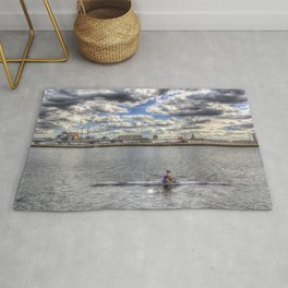 Single Scull Rug
