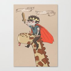 Luca the Little Prince Canvas Print