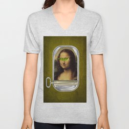 Color Chaos Collection -- Canned Unisex V-Neck