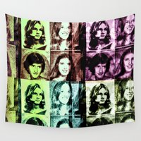 70s Wall Tapestries featuring 70s by Geni