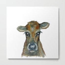Little Calf Metal Print