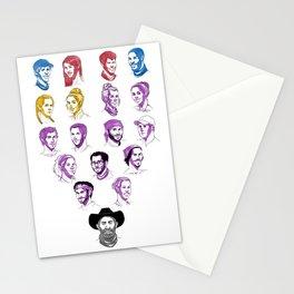 35 - Heroes v. Healers v. Hustlers Stationery Cards