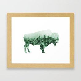 Roam KC Framed Art Print