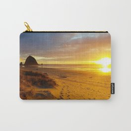 Cannon Beach Oregon at Sunset Haystack Rock Carry-All Pouch