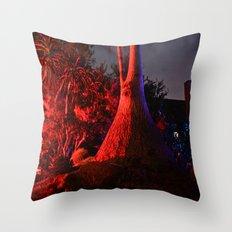 Crazy Tree Throw Pillow