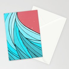 The Lone Wave Stationery Cards