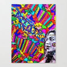 A Colorful Vision  Canvas Print