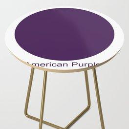 American Purple Side Table