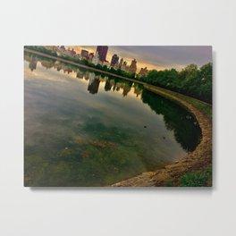 Jacqueline Kennedy Onassis Reservoir, Central Park, NYC Metal Print