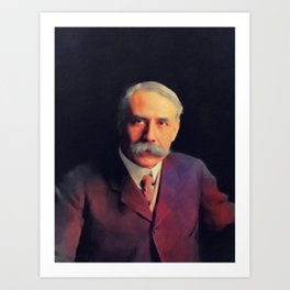 Edward Elgar, Music Legend Art Print