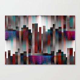 IIIuminated City Canvas Print