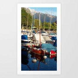 Yachts II Art Print